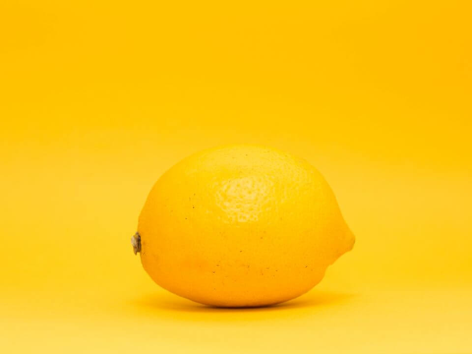 The cleaning power of lemons